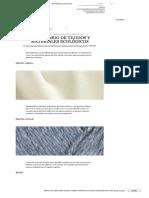 Tejidos y Materiales Ecologicamente Amigables
