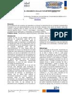 INFORME 3. ESTIMACION DEL CRECIMIENTO CELULAR POR METODOS INDIRECTOS