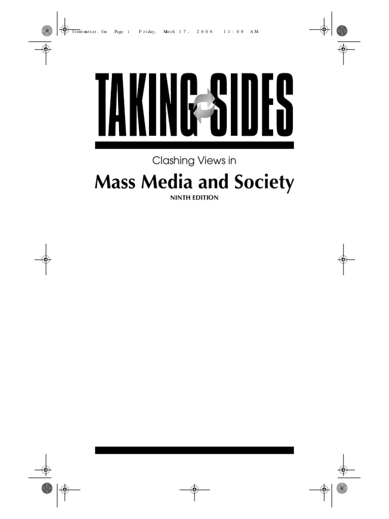 Taking sides mass media and society mass media public sphere fandeluxe Images