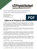 Que Es El Proyecto Blue-beam