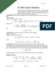 3063 Exam2 Solutions Sp06