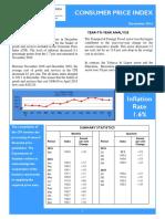 Consumer Price Index -Dec 16