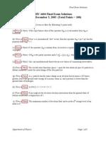 4604 Exam3 Solutions Fa05