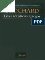 Brochard_Los Escépticos Griegos