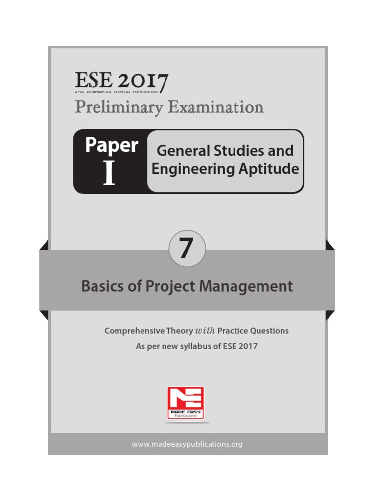 7 basics of project management b singh sir finalpdf basics of project management b singh sir finalpdf scheduling production processes feasibility study fandeluxe Image collections