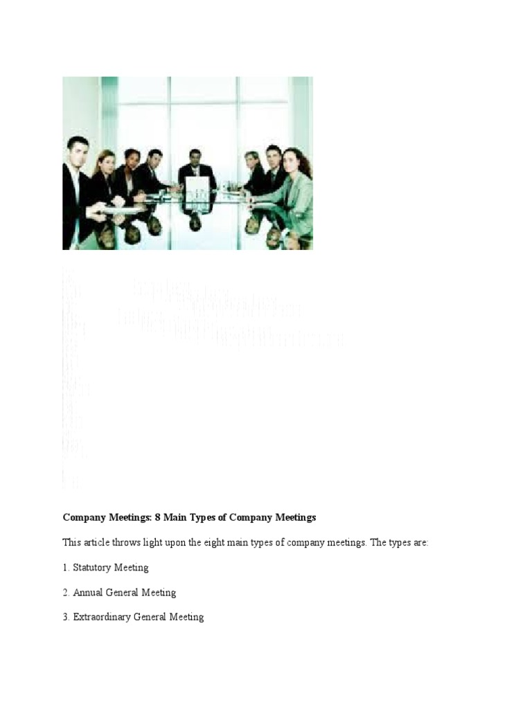 difference between statutory meeting and annual general meeting