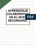 Aprendizaje Colaborativo Nivel Secundario