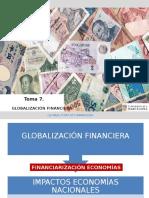 Globalización Financiera. (1)
