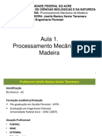Aula 1- Introdução Ao Processamento Mecanico Da Madeira