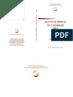 Activité, Emploi Et Chômage, Résultats Détaillés, 2011 (3)