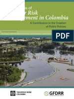 Analysis of Disaster Risk Management in Colombia