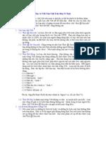 Đọc và Viết Chử Việt Trên Máy Vi Tính