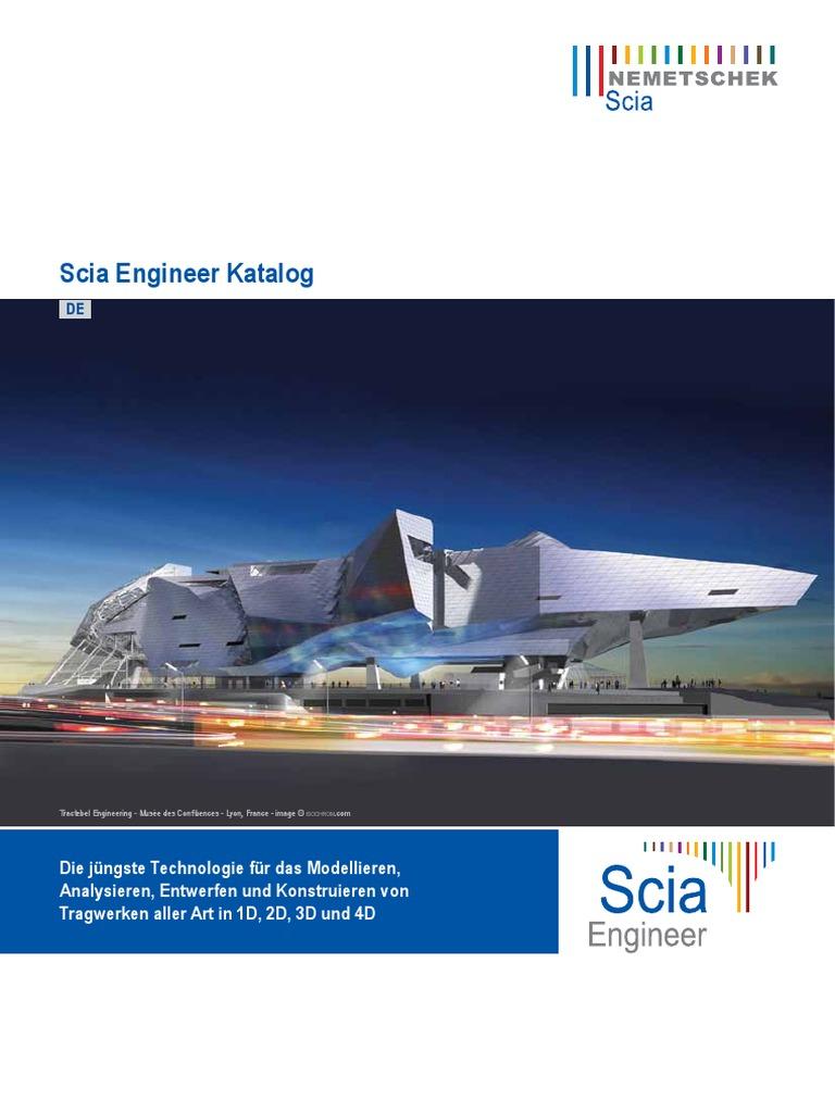 Scia Engineer Katalog