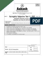 Aakash FST