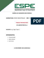 Trabajo Preparatorio 1.1 Proaño, Robalino, Wilchez
