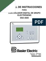 Manual Inst.genset Controller Dgc-2020 Basler