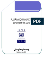 Planificación prospectiva LUISA MARTINEZ