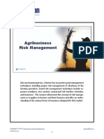 Agribusiness Risk Management