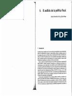 El Análisis de La PoÍtica Fiscal by Pable Hérnandez de Cos y Eloísa Ortega