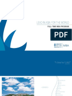 HKUST MBA FT Brochure (Intake 2017)