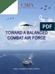 Toward Balanced Combat Air Force
