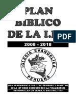 Plan Biblico Actualizado 2015