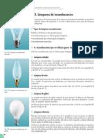 Luminotecnia Dispositivos Incandecentes y Fluorecentes 8
