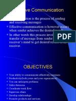 Effective Communication(1st Lecture)