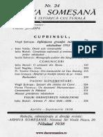 Arhiva someşană - Revistă istorică-culturală, 15, nr. 24, 1938