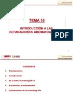 Cromatografia (Tema 5)