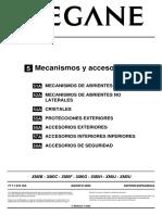 Mecanismos y Accesorios - Megane 2