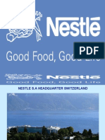 A presentation on Nestle Dublin