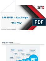 Value Proposition for S/4 HANA
