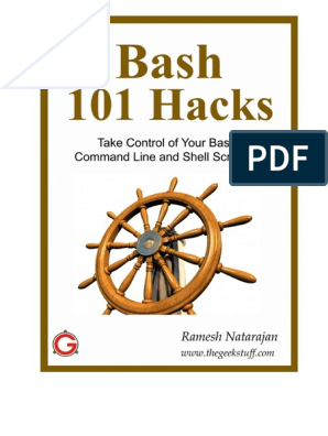 Bash 101 Hacks | Command Line Interface | Operating System Technology