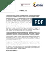 Santos pide al CNE investigar supuestos aportes de Odebrecht a su campaña