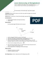 Surveying Lab Manual