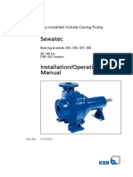 Installation Operating Manual Sewatec