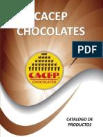 Cacep Chocolates 2016 Catálogo