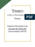 Platon - Timeo
