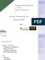 Aula03 - Introdução à Administração de Sistemas Linux