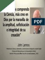 John Lennox, Frases