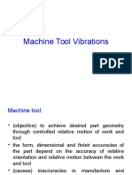 Machine Tool Vibrations 2015
