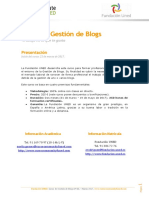 Curso de Gestión de Blogs
