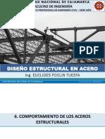 06. COMPORTAMIENTO DE LOS ACEROS ESTRUCTURALES (DISEÑO ESTRUCTURAL EN ACERO).pdf