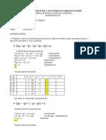 Deberes de Matematica 1