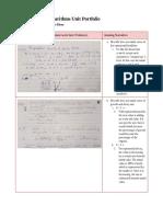 exponents and logarithms unit portfolio - reiter - google docs