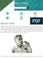 Biografia de Eduardo Toldrá