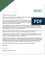 Kyle Dodson Letter