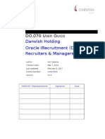 D070 Oracle IRec Use Gide