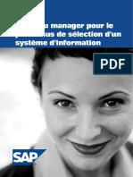 Livre Blanc SAP 2006 Bien Selectionner Un Systeme d Information